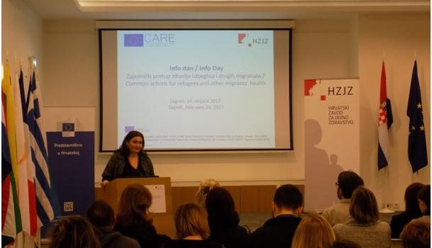 CARE Info Day in Croatia, February 2017